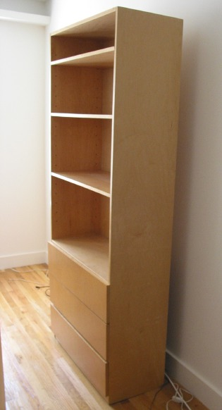 shelf unit with drawers tall deep sturdy modern custom made rh samlynn org bookshelves with drawers drawers with shelves on top